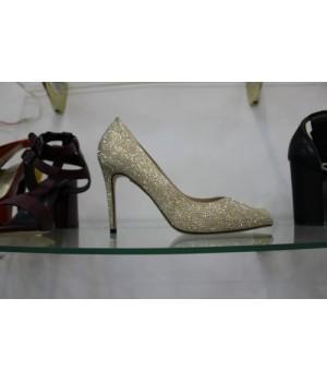 Туфли зол страз Madonna 7006-7 [золото]