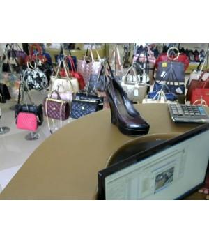 Туфли на платформе кожа  Bessini 668-6 [Черн/сирен]