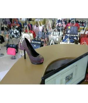 Туфли на скрыт плат Basic A888-5 [Хамелеон]