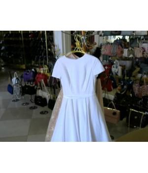 Платье вечернее белого цвета Isabel Garsia (BB1362)