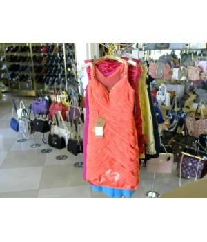 Платье вечернее коралл De Nagi 1052