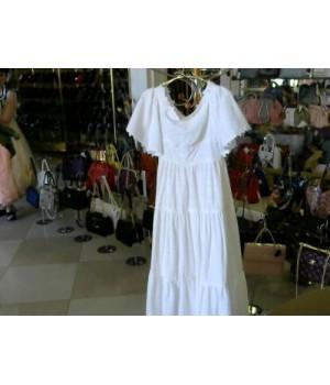 Платье белое в пол сарафан ISABEL GARCIA (BB1851) [Белый]