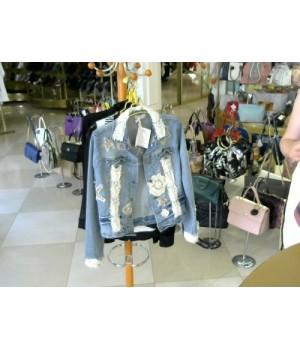 Куртка  джинсовый звезды  ANTICO CANTORIA(2015c54) [Джинс]