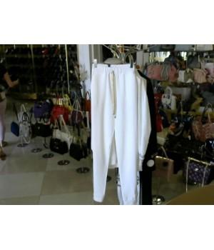Брюки спорт белые DONE DE SOCNO 18D19781 [Белый]