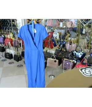 Комбинезон цвет индиго каттон  LEA LIS BB1674 [синий]