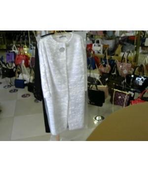 Пальто белое ELENE VIARE 167090 [Белый]