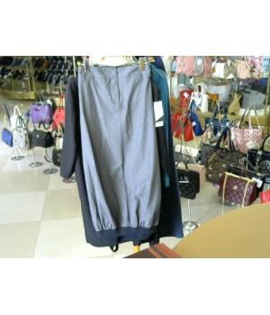 Юбка цвет синий джинс снизу Oblique (1501538) [серый]