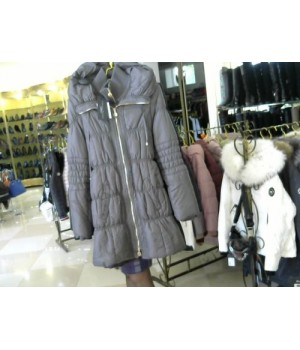Куртка пух стеганая  CRISTINA COVIOLI (4900) серый