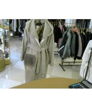 Пальто Rima ma Donna вяз капюш беж