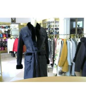 Divas (383) пальто-куртка длин черн