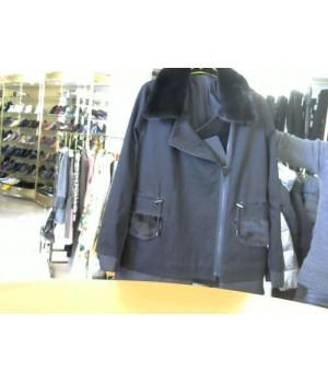 Divas (18-388) куртка удин косуха черн