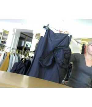 MIN (19-2002) юбка длин  черн