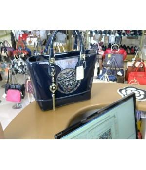 Сумка Vercace (5447) сумка большая формов посередине сумки логотип vercace синий [синий]