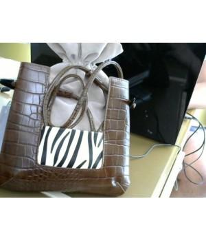 сумка 8330 [коричнево-серый]