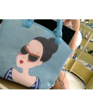 сумка 816 голубая [голубой]