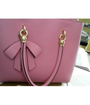 [розовый] сумка (1023-1) формов гладкая кожа