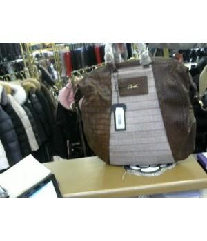 Сумка-рюкзак клетка-кожа  Axel 1023-0127