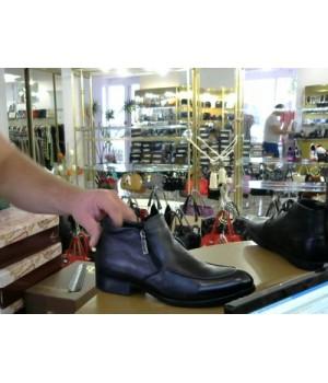 Ботинки мех кожа 9003-bb-aom M PIERO  [Черный]