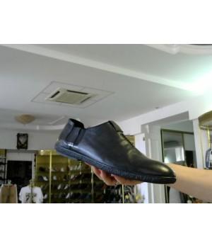 Слмпоны черн кожа Fioretto  YB566-1-3 [Черный]