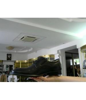 Дерби черн кожа Lido Marionozzi 9330А-07В-А42 [Черный]