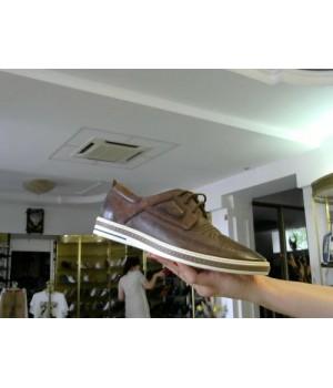 Дерби корич кожа /нубук Marco Piero L268-Е37801-8 [коричневый]