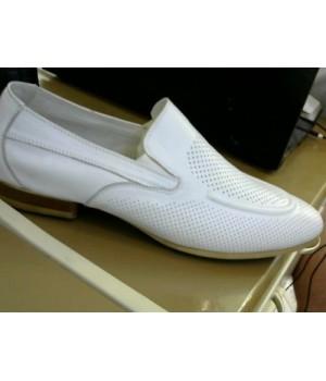 Слиперы бел кожа  Mario Paolani 88072L21 [Белый]