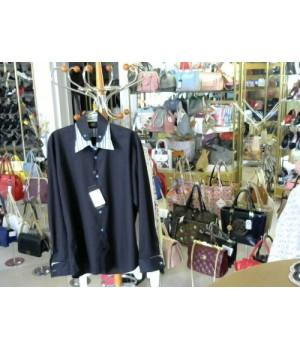 Рубашка черного цв длин рукав воротник и манжет Jast Cavalli (2A68-1) [Черный]